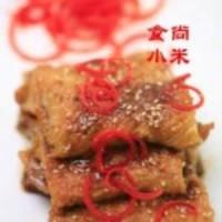 红烧腐皮包肉