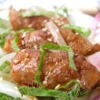 洋葱酱肉卷