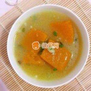 南瓜咸汤怎么做好吃 家常南瓜咸汤