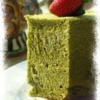 百香果和罂粟籽雪纺蛋糕
