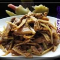 笋干姜芽烧五花肉