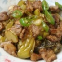 咸菜焖腩肉