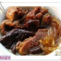 家鸡炖双茹粉条