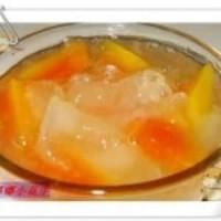 冰糖木瓜炖银耳