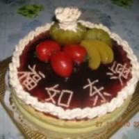 祝寿轻芝士蛋糕