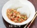 香菇虾仁滑蛋烩饭